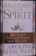 Picture of Anatomy of the Spirit Book Cover