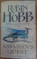 Picture of Assassin's Quest Book Cover