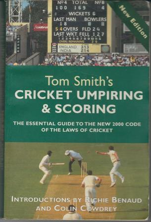 Picture of Cricket Umpiring and Scoring Book Cover