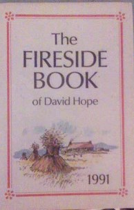 Picture of The Fireside Book of David Hope 1991 Book Cover