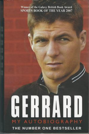 Picture of Gerrard My Autobiography Book Cover
