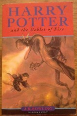 Picture of Harry Potter and the Goblet of Fire Book Cover