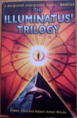 Picture of The Illuminatus Trilogy book cover