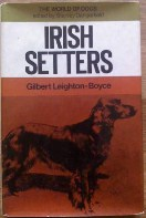 Picture of Gilbert Leighton Boyce Irish Setters book cover
