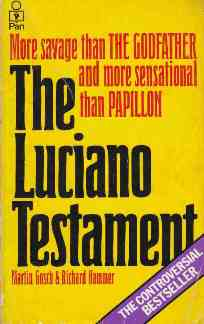 Picture of The Luciano Testament Book Cover