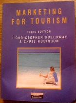Picture of Marketing for Tourism Book Cover