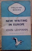 Picture of John Lehmann New Writing in Europe book cover