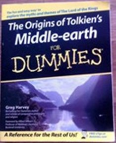 Picture of Origins of Tolkien`s Middle-Earth for Dummies Cover