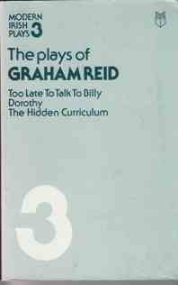 Picture of Plays of Graham Reid Book Cover