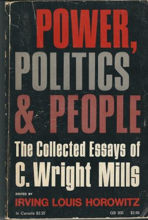 Picture of Power Politics and People Book Cover