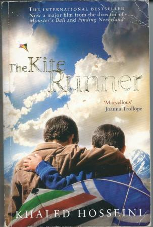 Picture of The Kite Runner book cover