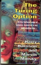 Picture of The Turing Option book cover