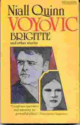 Picture of Niall Quinn Voyovic Brigitte and Other Stories book cover