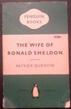Picture of The Wife of Ronald Sheldon Book Cover